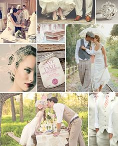 Vintage Wedding by Mandy Blanchard