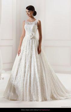 Suknia ślubna Agnes Fashion Group 11844 S911 Inspired Collection - TwojaSuknia.pl