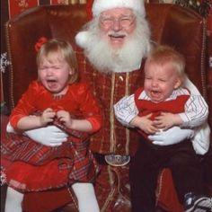 Instagram Santa Claus Photos, Santa Pictures, Christmas Pictures, All Things Christmas, Christmas Humor, Vintage Christmas, Funny Pictures, Funny Family Photos, Kid Photos