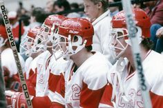 "The ""Photo of the Day"" is a shot of the Wisconsin bench from the 1985-86 season. Looks like future UW assistant coach Pat Ford (12) and Tony Scheid (33) in the foreground of the photo."