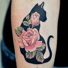 15 tatuagens incríveis para quem ama gatinhos