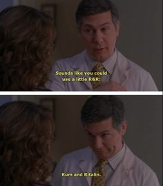 "Everyone needs a little R & R: | The 50 Most Important Lessons Learned From ""30 Rock"" sooo funny"
