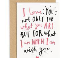 Hugs and Kisses Card  Love card  Sympathy card  Thinking of