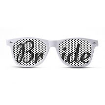Each of us girls in the bridal party are wearing crazy sunglasses so i sooo need these!!