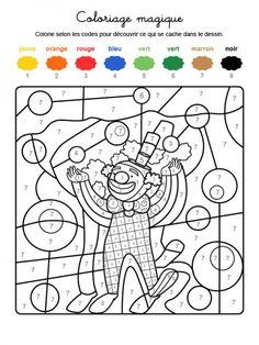 Coloriage Cirque Cp.Les 36 Meilleures Images De Coloriage Chiffre En 2017