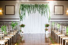 ENLY Event Design | Italian Wedding Backdrop and Reception Inspiration