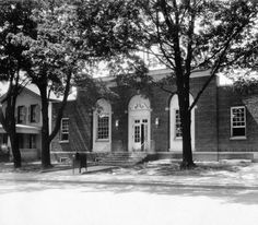 POST OFFICE, COLUMBIA CITY, INDIANA. :: Historic Photos