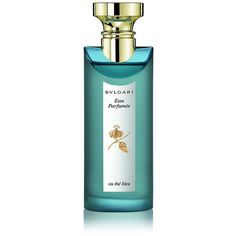 Bvlgari Eau Parfumee au the bleu Eau de Cologne Spray found on Polyvore featuring beauty products, fragrance, no color, bulgari, bulgari perfume, floral perfumes, spray perfume y heart perfume