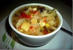 Sopa de Verduras, nutritiva dietética