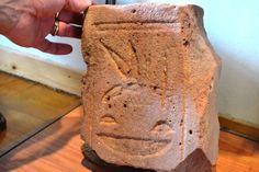 Karnak Temple – Luxor, Egypt - Temple stone section w/honey bee hieroglyphics