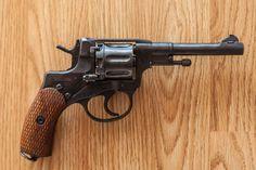 револьвер, наган, оружие
