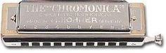 Hohner 260/40 Chromonica G by Hohner. $158.00. Perfectly tuned brass reeds and a pearwood comb allow this model to play 2 chromatic octaves. The 10-hole, 40-reed Chromonica features chrome-plated covers and wind-saving valves for greater tone volume. It comes packaged in a durable case. Keys: C or G