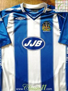 2007 08 Wigan Athletic Home Football Shirt (M) ac6a8ac03