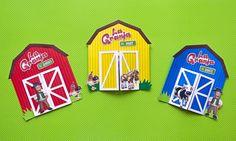 La granja de Zenón 🤠 - Invitacion infantil | Party Pop Farm Birthday, Birthday Party Themes, Ideas Para Fiestas, Rey, Farm Theme, Farm Party Decorations, Ideas Party