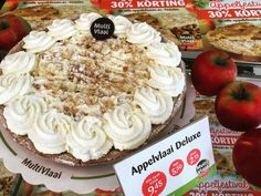 Appelvlaai Deluxe voor 945. Appelfestival 30% korting!!! #leiden #leidenuniversity #leidenlaw #leidenculinair #appelvlaai #vlaai #applepie #apple #pie #apple #appeltaart #multivlaai #multivlaaileiden