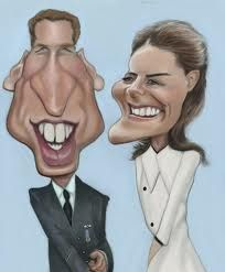hermann mejia caricature of William and Kate