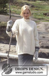 20 Ideas for knitting patterns free aran drops design Aran Knitting Patterns, Knit Patterns, Free Knitting, Cable Knit Jumper Mens, Knitted Baby Cardigan, Pull Aran, Pull Torsadé, Aran Sweaters, Honeycomb Stitch