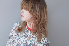 Pin on ミディアムヘア (Medium hair) Medium Hair Cuts, Medium Hair Styles, Long Hair Styles, Hair Photo, Fashion Books, Hair Pins, Hair Inspiration, Floral Tops, Cool Style