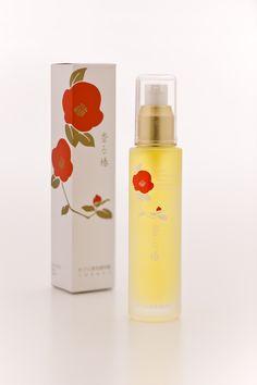 かづら清 特製つばき油 香る椿 Cosmetic Packaging, Brand Packaging, Box Packaging, Packaging Design, Cosmetic Design, Japanese Design, Camellia, Beauty Make Up, Banner Design