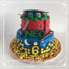 Teenage Mutant Ninja Turtle Cake #tmntcake