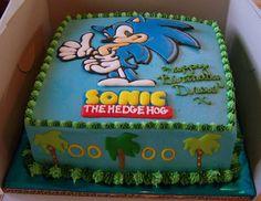 Sonic the Hedgehog cake                                                       …