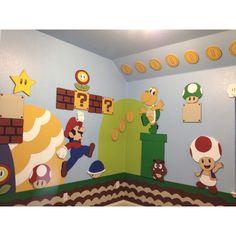 Mario Brothers playroom