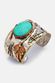 Turquoise Howlite Enna Bracelet