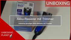 Günstiger Akku-Rasierer mit Trimmer - Unboxing Planet In China, Video News, Videos, Personal Care, Shaving, Personal Hygiene, Video Clip