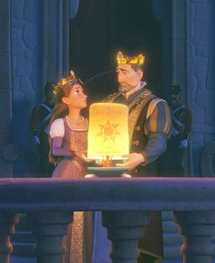 *QUEEN ARIANNA & KING FREDERIC of CORONA ~ Tangled, 2010