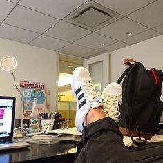 Another Friday goes! #nofilter #NYC #newyork #work #creative #shoes #kicks #tagsforlikes #instashoes #instakicks #sneakers #sneakerhead #solecollector #nicekicks #igsneakercommunity #sneakerfreak #sneakerporn #shoeporn #fashion #swag #instagood #fresh #photooftheday #sneakerholics #kickstagram #walklikeus #peepmysneaks #flykicks #style