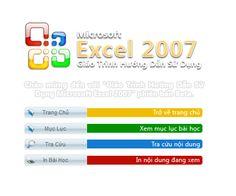 Nhằm giúp quý thầy cô có tư liệu tham khảo cũng như học tập sử dụng phần mềm MS Word và MS Excel 2007, chúng tôi vừa upload 2 bộ ebook giáo trình MS Word 2007 và giáo trình MS Excel 2007.