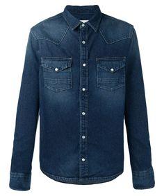GOLDEN GOOSE Golden Goose Men'S G30Mp531A3 Blue Cotton Shirt'. #goldengoose #cloth #dress shirts