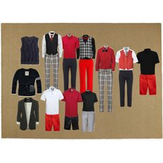 Boy's Uniforms, created by laura-myers on Polyvore