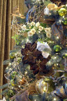 christmas tree antique gold - Buscar con Google