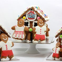 Family Gingerbread House - New exciting 2016 Christmas design! Can be further personalised for your occassion with a logo