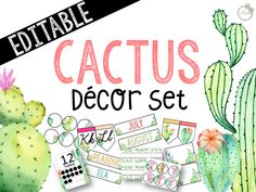 Simple baby shower: learn how to organize and see 60 ideas - Home Fashion Trend Classroom Setting, Classroom Setup, Classroom Design, Preschool Classroom, Future Classroom, Classroom Organization, Kindergarten, Cactus Decor, Cactus Cactus