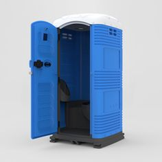 TOI-blok | TOIBLU sturdy PortaLoo blue portable toilet for sale PortaLoo made in Europe for Europe Porta Loo made in Italy #portaloo #portabletoilet #plastictoilet