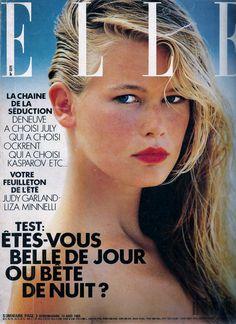 Claudia Schiffer 14 Aout 1989