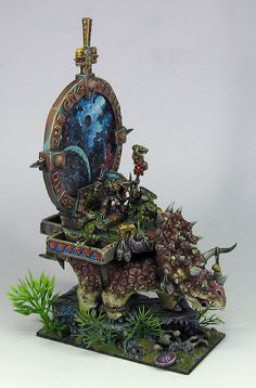 James Wappel Miniature Painting: Over the river of blood and through the jungle to Babo's house we go!
