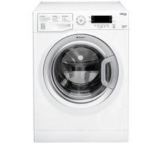White and Brushed Chrome Hotpoint Ultima SWMD9437XRUK Washing Machine Review
