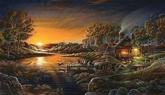 Painter Terry Redlin