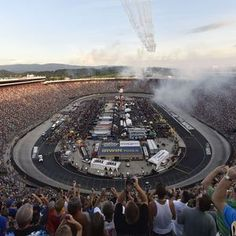 Watch my sister, Melanie, and the children of NASCAR drivers sing the National Anthem tonight! NASCAR Bristol night race 2015: Start time, lineup, TV/radio schedule #MotorRacingOutreach #MRO
