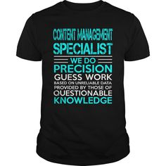 ((Top Tshirt Popular) CONTENT MANAGEMENT SPECIALIST WEDO OLD [TShirt 2016] Hoodies, Funny Tee Shirts