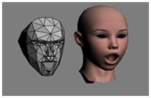 microsoft Kinect Face Tracking