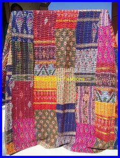 Indian Silk Quilt | PATTERNS of INDIA | Pinterest | Fabrics ... : indian sari quilts - Adamdwight.com