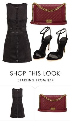 """Untitled #2709"" by evalentina92 ❤ liked on Polyvore featuring H&M and Chanel"