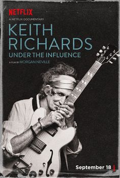 Watch the 'Keith Richards: Under the Influence' Trailer #keithrichards