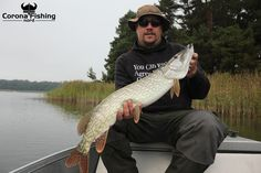 We confess - we're quite obsessed when it comes to #pike! #fishingtrip #sweden