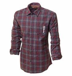 6f599e68949ca49 Бордовая байковая рубашка по супер выгодной цене 2990 руб, с бесплатной  доставкой по Москве и