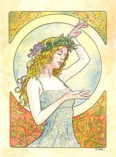 Art Nouveau 02 by ssava.deviantart.com on @DeviantArt
